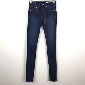NEW Rag and Bone High Rise Skinny Jeans